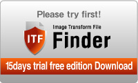 Please try first! ITF Finder 15days trial free edition Download